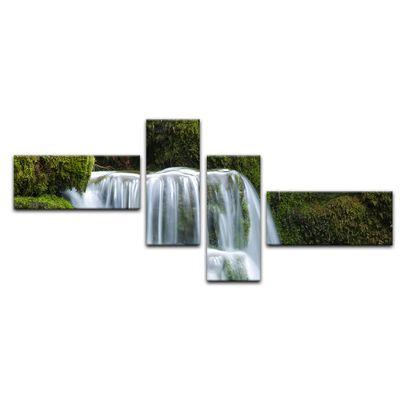 Leinwandbild - Wasserfall – Bild 14