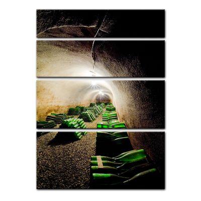 Leinwandbild - Weinkeller – Bild 12