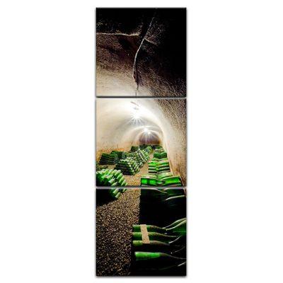 Leinwandbild - Weinkeller – Bild 13