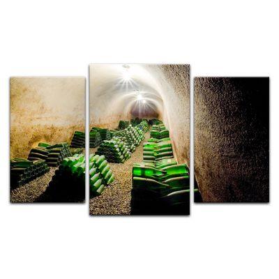Leinwandbild - Weinkeller – Bild 4