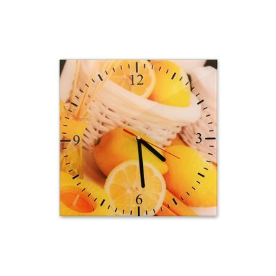 Glasuhr - Zitronen - 039