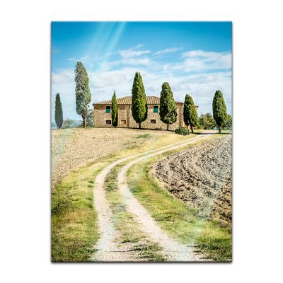 Glasbild - Toskana - Italien – Bild 2