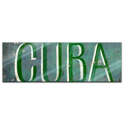 Glasbild - Cuba – Bild 4