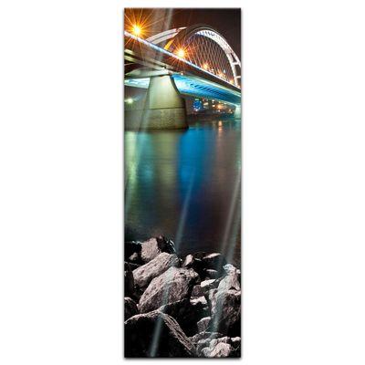 Glasbild - Apollo Brücke, Bratislava - Slovakei – Bild 4