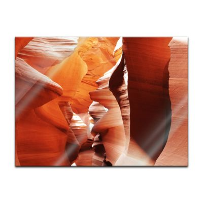 Glasbild - Antelope Canyon - Arizona USA III – Bild 2