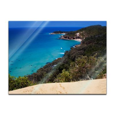 Glasbild - Oasis Island Paradise – Bild 2