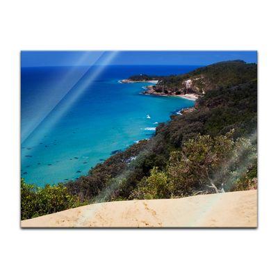 Glasbild - Oasis Island Paradise – Bild 3