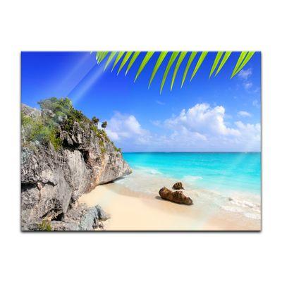 Glasbild - Tulum Mexiko - Karibik – Bild 2