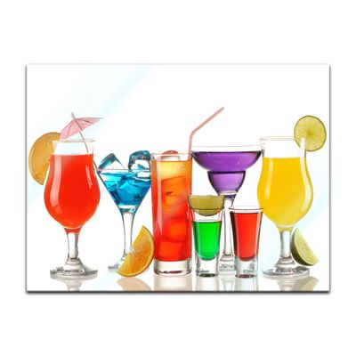 Glasbild - Cocktails III – Bild 2