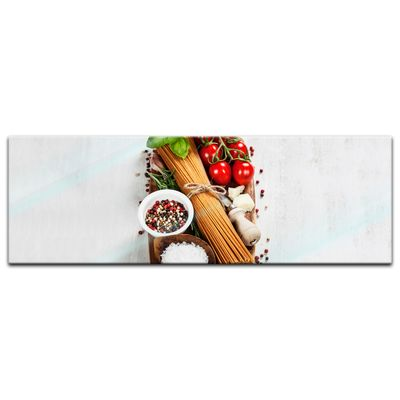 Glasbild - Italienische Pasta II – Bild 4