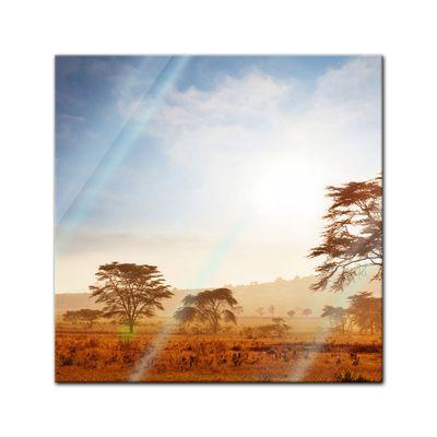Glasbild - Kenia – Bild 1