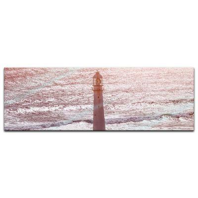 Glasbild - Leuchtturm III – Bild 4