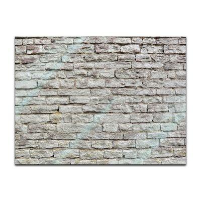 Glasbild - Steinmauer III – Bild 2