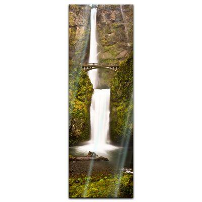 Glasbild - Multnomah Falls in Oregon - USA – Bild 3