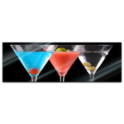 Glasbild - Cocktails – Bild 3