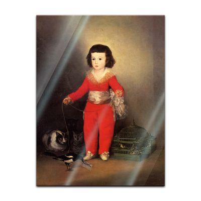 Glasbild Francisco de Goya - Alte Meister - Don Manuel Osorio Manrique de Zuñiga  – Bild 2