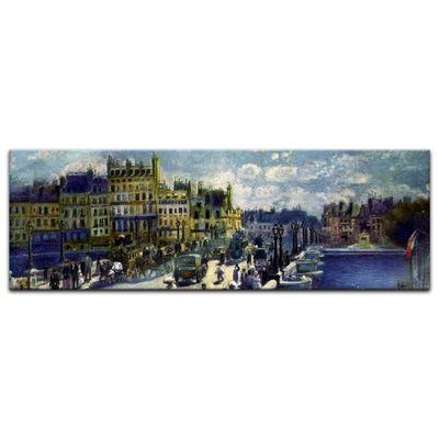 Glasbild Pierre-Auguste Renoir - Alte Meister - Pont-Neuf  – Bild 3