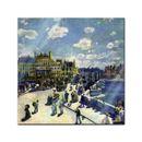 Glasbild Pierre-Auguste Renoir - Alte Meister - Pont-Neuf  001