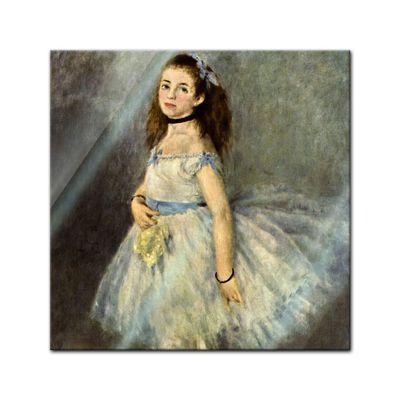 Glasbild Pierre-Auguste Renoir - Alte Meister - Die Balletttänzerin  – Bild 1