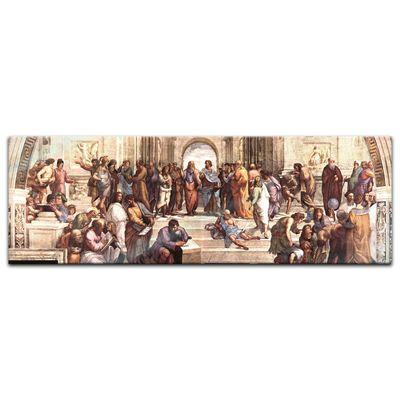 Glasbild Raffael - Alte Meister - Die Schule von Athen  – Bild 3
