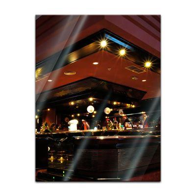 Glasbild - Bar – Bild 3