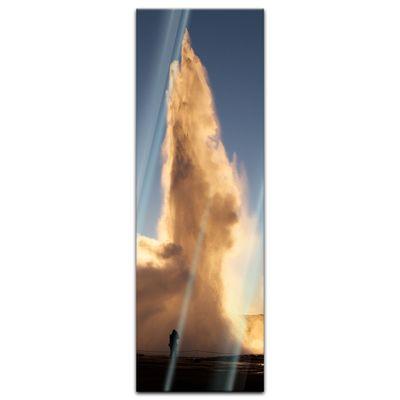 Glasbild - Geysir – Bild 4