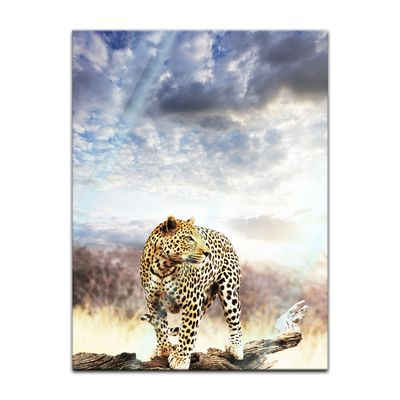 Glasbild - Leopard – Bild 5