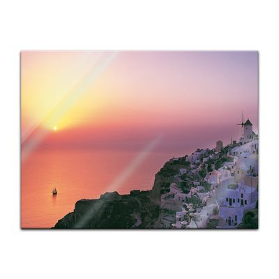 Glasbild - Mediteran I – Bild 2