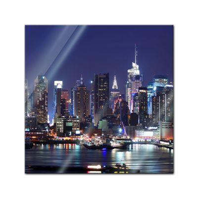 Glasbild - New York III – Bild 1