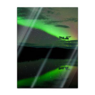 Glasbild - Nordlichter – Bild 3