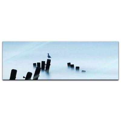 Glasbild - Moonlit Sea, Norfolk – Bild 6