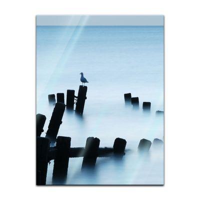 Glasbild - Moonlit Sea, Norfolk – Bild 3