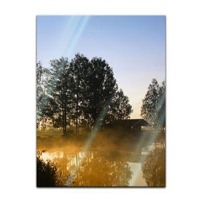 Glasbild - Morgenstimmung – Bild 5