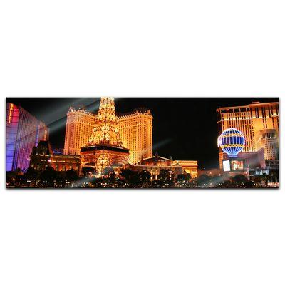 Glasbild - Abend in Las Vegas – Bild 6