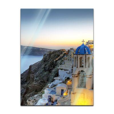 Glasbild - Santorini - Griechenland – Bild 5