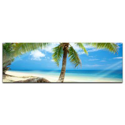 Glasbild - Strand im Paradies – Bild 6