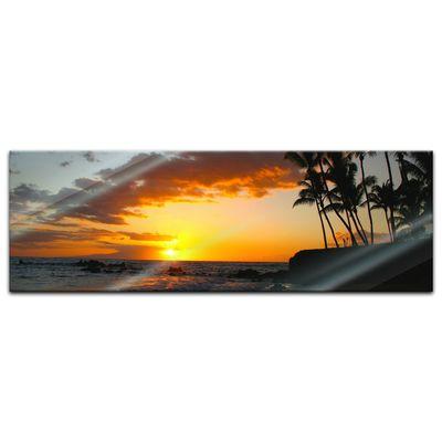 Glasbild - Makena beach - Hawaii USA – Bild 6