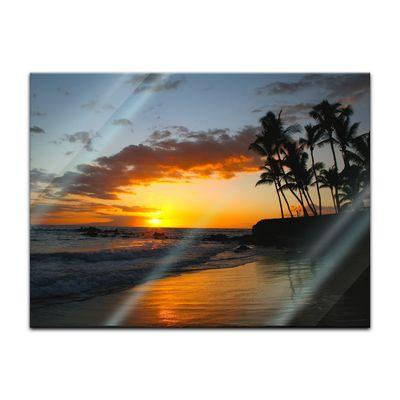 Glasbild - Makena beach - Hawaii USA – Bild 4