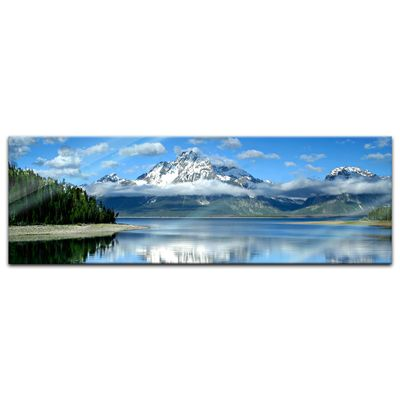 Glasbild - Berglandschaft am Lake Jackson - Texas USA – Bild 6