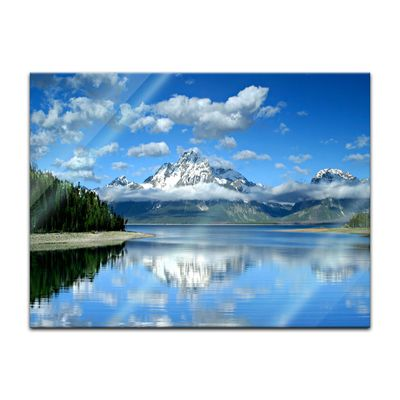 Glasbild - Berglandschaft am Lake Jackson - Texas USA – Bild 4