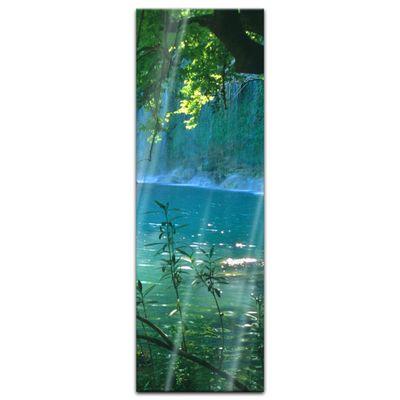 Glasbild - Kursunlu Wasserfälle - Türkei – Bild 7