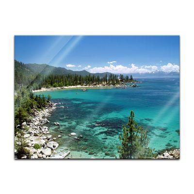 Glasbild - Lake Tahoe - Nevada USA – Bild 4