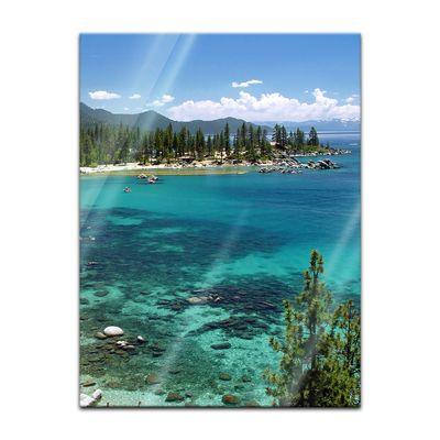 Glasbild - Lake Tahoe - Nevada USA – Bild 5