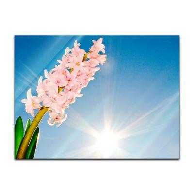 Glasbild - Blume – Bild 2