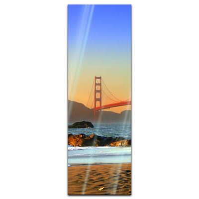 Glasbild - Golden Gate – Bild 7
