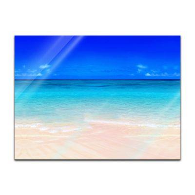 Glasbild - Sandstrand – Bild 2