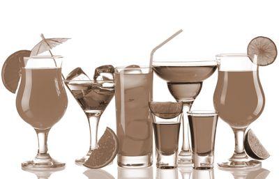Fototapete - Cocktails III – Bild 4