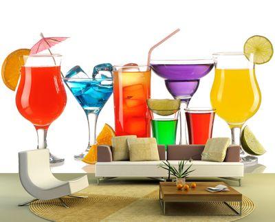Fototapete - Cocktails III – Bild 1