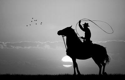 Fototapete - Rodeo Cowboy – Bild 6