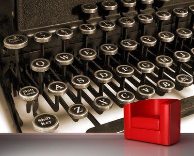 Fototapete - Schreibmaschine – Bild 1